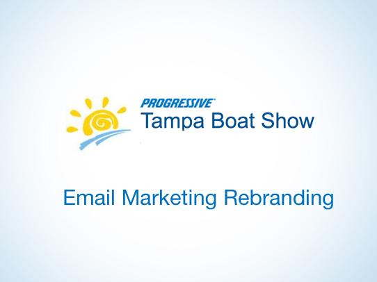 Tampa Boat Show Email Communications