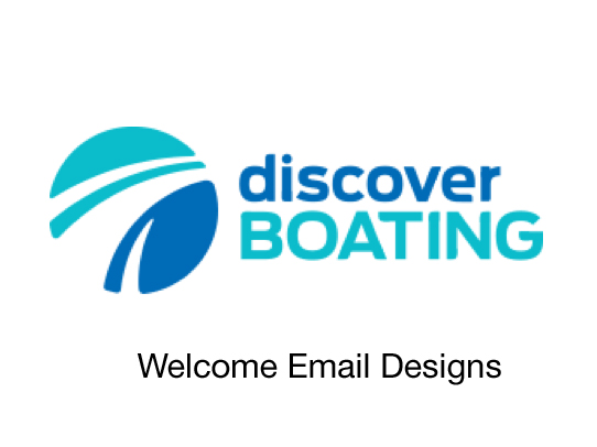 Discover Boating Online Marketing Welcome Emails