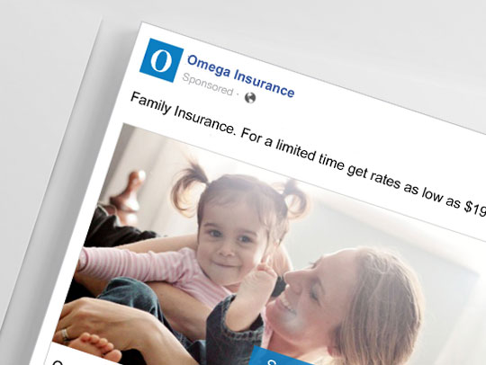 Insurance Online Marketing Campaign